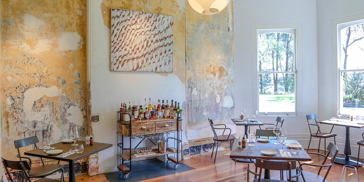 Bellevue Cottage French Restaurant in Glebe
